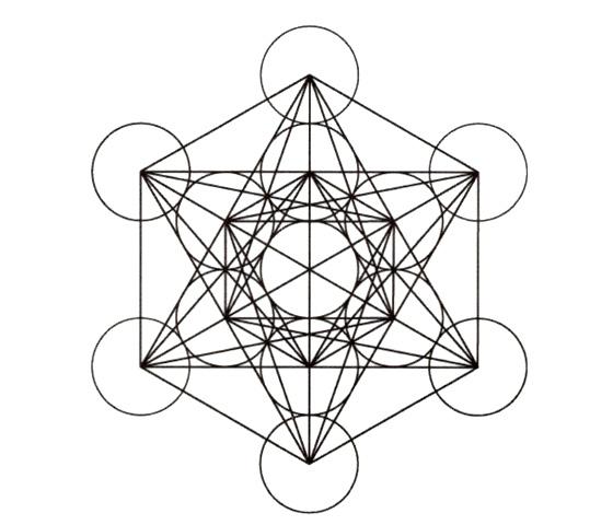 二大神聖幾何学 フラワーオブライフとメタトロンキューブ